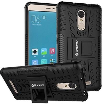 Bracevor Shock Proof Case for Xiaomi Redmi Note 3(Black)