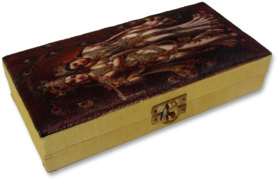 WeddingPitara Wooden Wedding Cash Box