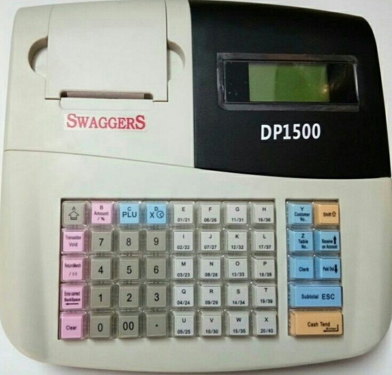 SWAGGERS SW-DP1500 Table Top Cash Register(LCD Screen)