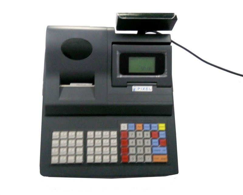 PIXEL DP 3000 Table Top Cash Register(LCD Screen)