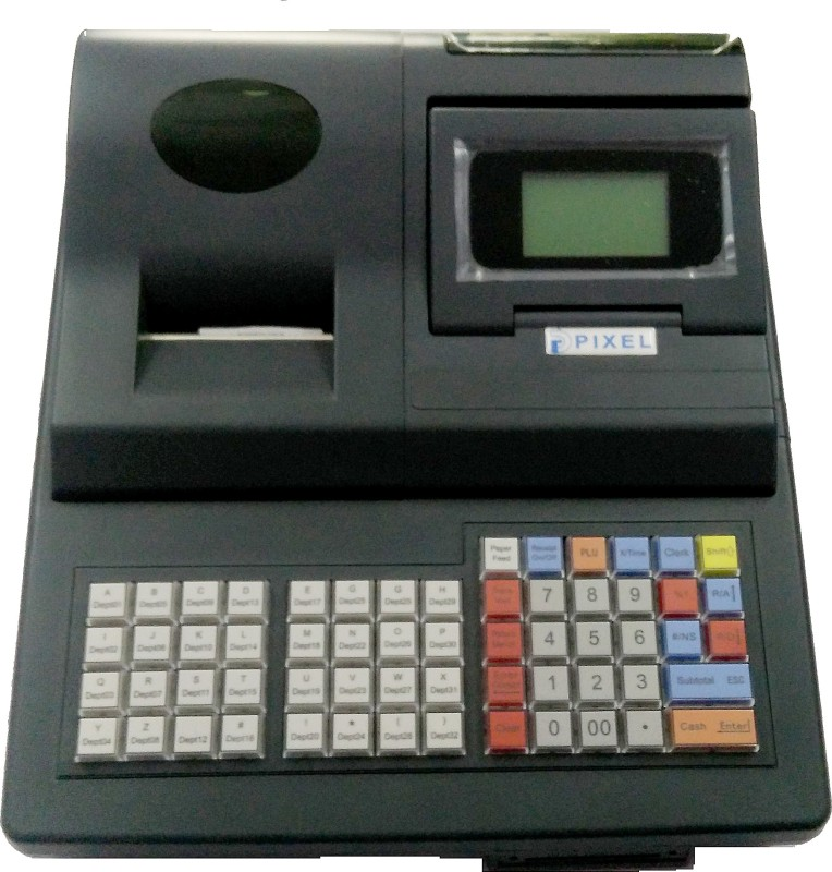 Pixel PIXELDP2000 Table Top Cash Register(LCD Screen)