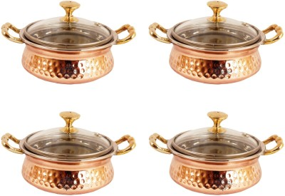 Indian Art Villa Pack of 4 Casserole Set(1.6 L)