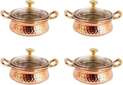 Indian Art Villa Pack of 4 Casserole Set(1.6 L)