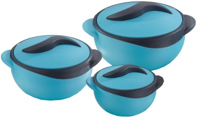 Pinnacle Parisa Finish Mate Pack of 3 Casserole Set(500 ml, 1000 ml, 1500 ml)