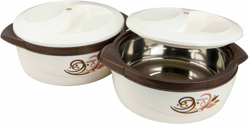 Nayasa Pack of 2 Casserole Set(1500 ml, 1500 ml)