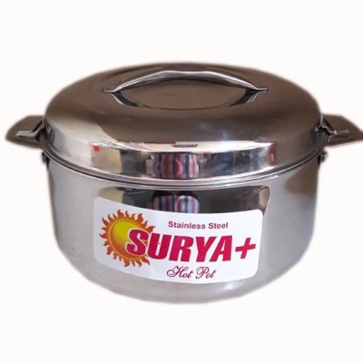 Surya Stainless steel hot pot 3500 Casserole