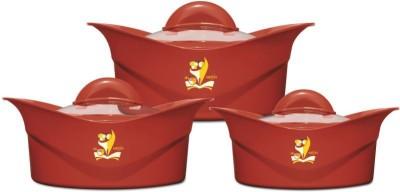 Milton Regalia Glass Lid Jr Gift Set Pack of 3 Casserole Set