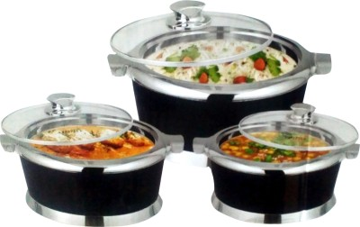 SBM + Pack of 3 Casserole Set