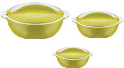 Pinnacle Pavonia Solid Pack of 3 Casserole Set(500 ml, 2000 ml, 1000 ml)