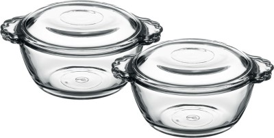 Pasabahce Pack of 2 Casserole Set(275 ml)