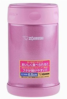 Zojirushi Zr-Sw-Eae50-Ps S/S Vacuum Food Jar 0.5l-Shiny Pink Casserole(0.5 L) at flipkart