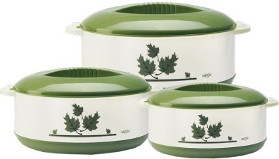 Milton Orchid Junior Pack of 3 Casserole Set(450 ml, 850 ml, 1500 ml)