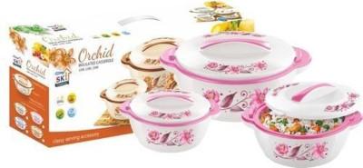 SKI Orchid Pack of 3 Casserole Set