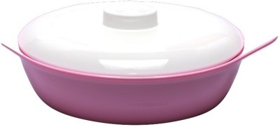 Hi Luxe Oval Big Pink Casserole(1.5 L)