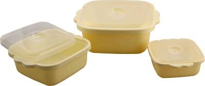 Nayasa Cooking Serve Set Pack of 3 Casserole Set(700 ml, 1650 ml, 3500 ml)