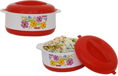 Stand Max Puf Insulated Hot-Pot Pack of 2 Casserole Set(4000 ml)