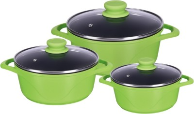 Alda die cast Pack of 3 Casserole Set(4.2 ml)