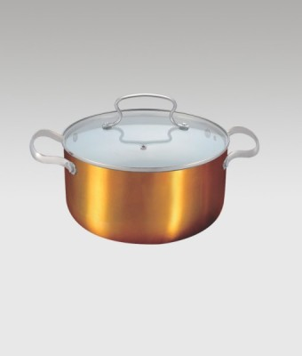 Alda alda cassrole copper wok 24 tall Casserole Set