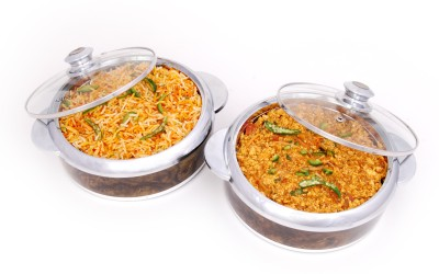 Jaypee Glass Mate Pack of 2 Casserole