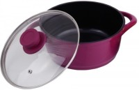 Wonderchef Ceramide With Glass Lid by Chef Sanjeev Kapoor Casserole