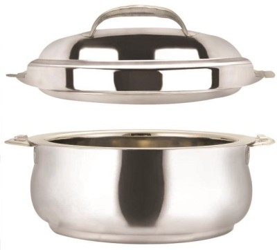 NanoNine Stanless Steel Double Wall Insulated Belly Casserole(3000 ml)