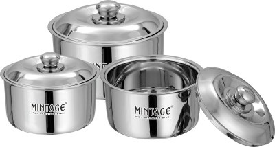 Mintage Hot Case(Fiesta) Gift Pack of 3 Casserole Set