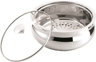 NanoNine Bellyno Stainless Steel Insulated Double wall Medium Casserole(2350 ml)