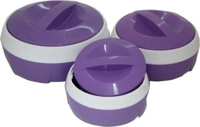 Princeware casserole purple Pack of 3 Casserole Set