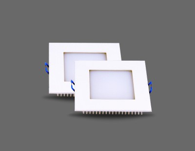 Noble 6w led Panel Cool white Recessed Ceiling Lamp