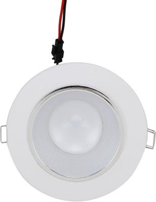WhiteRay Led Conceiled False Ceiling Egg Light 5 Watt Night Lamp