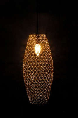Logam Logam Gold Pod hanging lamp (Ring collection) Pendants Ceiling Lamp