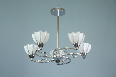 SS LED Decorative Lights 15W Chandelier Ceiling Lamp