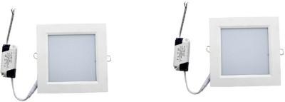 HD 12W Square Led Panel (STARLED) Flush Mount Ceiling Lamp