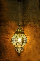 Logam Pendants Ceiling Lamp