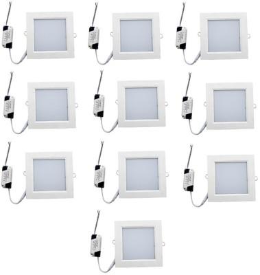 Homes Decor 3W Square Led Panel Light (Star LED) Flush Mount Ceiling Lamp
