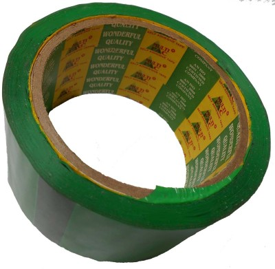 ZakTag 3 inch Green Tape 18m (59 ft) x 7cm (2.75 inch) Small . Green Tape (.)