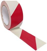 Bapna Pvc Adhesive Tape Medium Floor Marking Red & White Strip Floor Marking Tape (Manual)(Set of 1, White and Red) best price on Flipkart @ Rs. 350