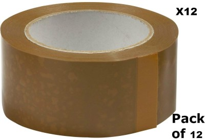 EZPACK Single Sided 200 Meter 48mm Packing Tape Packing Tape, Ecommerce Sellers, Brown Tape (NA)