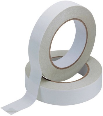 BAPNA double sided 25 mm width x 50 meter length small hand handled tissue tape (manual)
