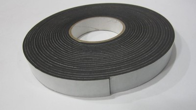 Bapna Single Sided 25mm x 10 meter Medium THICK BLACK Manual (Manual)