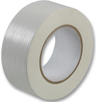 BAPNA SINGLE SIDED 48 MM WIDTH x 50 METER LENGTH SMALL WHITE DUCT TAPE HIGH STRENGTH (MANUAL)
