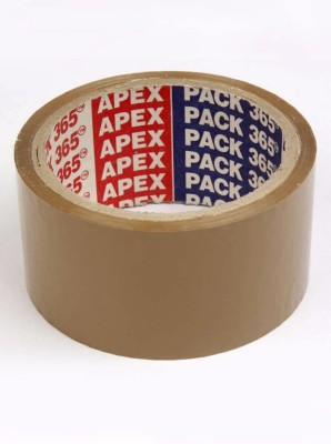 Apex Brown Tape Single Sided 2 Inch Glue (Manual)
