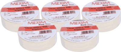 Mexim Office Easy Tear Clear 12 mm Single Sided Small Cello Tapes