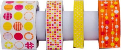 Thecraftshop Single Sided Medium Regular Handheld Washi tape (Manual)