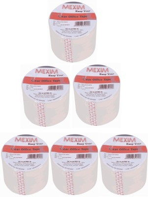 Mexim Office Easy Tear Clear 18 mm Single Sided Small Cello Tapes