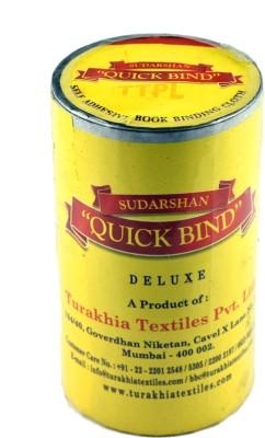 Sudarshan Quick Bind Single Side Large Large Handheld Self Adhesive Book Binding Cloth (Manual)(Set of 1, Black)