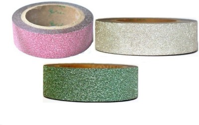 Atanands Glitter Single Sided Small Regular Handheld Cello Tapes (Manual)