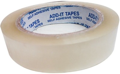 ADD-IT TAPES Single Sided Small Small Handheld CELLO TAPES (Manual)(Set of 6, TRANSPARENT)
