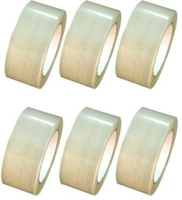 Lowprice Online Single Sided Small Small Handheld Cello Tape (Manual)(Set of 6, Transparant)