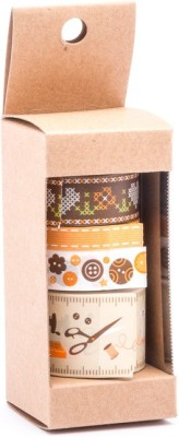 The Craftshop Single side Medium Medium Handheld Washi Tape (Manual)